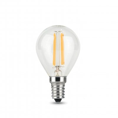 Лампа Gauss LED Filament Шар Е14 9 Вт 4100К